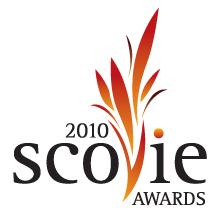 2010 Scovie logo