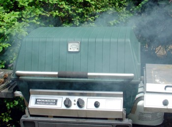 Smoking with a Gas Grill