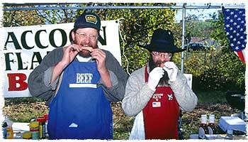 Paul Lengeling (left) and Jim Schwass