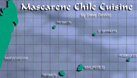 Mascarene Islands Map