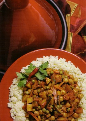 Harissa and Seven-Vegetable Coucous