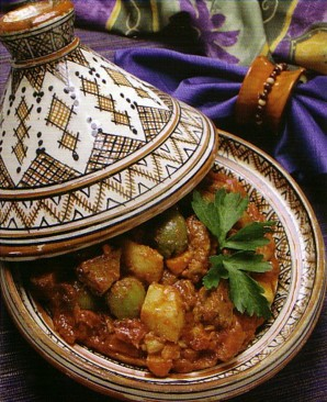 Beef Tagine with Green Olives