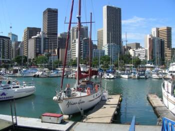 The Durban Yacht Harbor