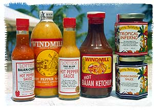 Bajan Chile Products