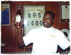 Sampling Mount Gay Rum