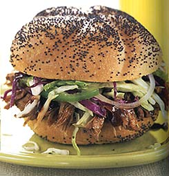 Carolina Pulled Pork Sandwiches with Coleslaw