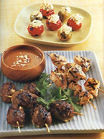 Three Appetizer Recipes from