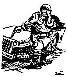 Bill Mauldin's Classic Cartoon from WW II