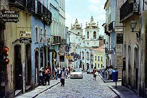 The streets of Salvador, Bahia