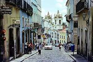 The streets of Salvador, Bahia