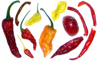 Assorted Candied Chiles