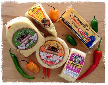 Chile cheeses available in the United States