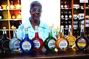 Original Senior Curaçao liquor