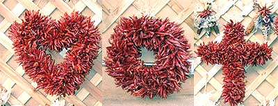 Dried Chile Ornaments