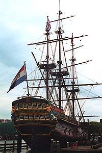 Full-Size Replica of the Spice Ship Amsterdam