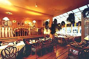 Interior of Indrapura Restaurant