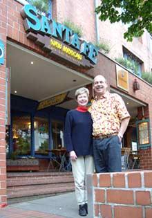 Mary Jane & Dave at the Santa Fe