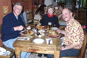 Dining at the Santa Fe Restaurant