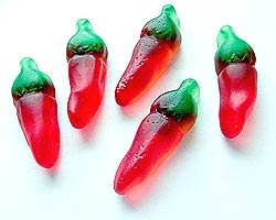 German Gummy Chiles - Photo by Harald Zoschke