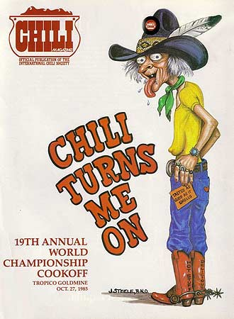 Cover of the ICS Magazine, Chili