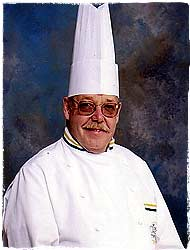 Chef Jim Heywood of the C.I.A.