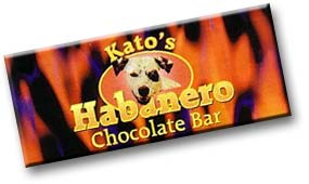Kato's Habanero Chocolate Bar