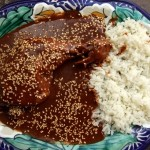 Mole Poblano de Guajolote (Turkey in Chocolate Chile Sauce)