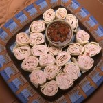 Green Chile Tortilla Pinwheels
