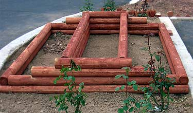 Frame for a Dual-Level Raised Bed