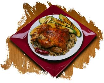 Easy Dinner: Roasted Chicken with Stuffings