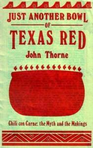 Cover of John Thorne's Chili Treatise