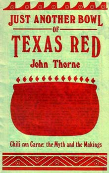 Cover of John Thorne's Chili Treatise