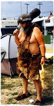 1982 CASI Terlingua Champion, Tom Skipper, in Formal Attire