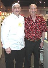 Jimmy Bannos (left), Dave DeWitt