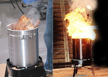 Don't let your turkey transform into a fireball!
