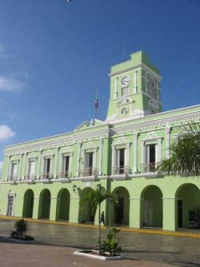 A municipal building in Progreso