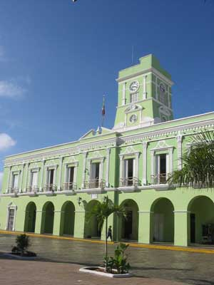 A municipal building in Progreso
