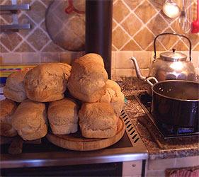 Frisch gebackenes Brot... mmmhh!