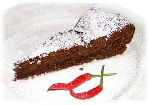 Luisa's Chili Chocolate Cake