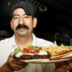 World's Largest Green Chile Cheeseburger?