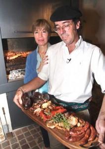 An Argentinian BBQ feast.