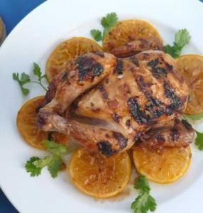 Moroccan Date-stuffed Chicken