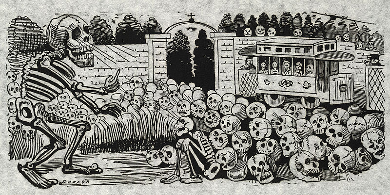 Early skeleton illustration