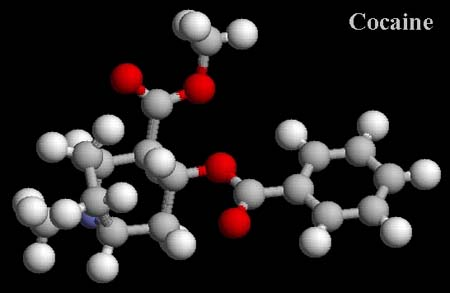 chemical makeup of cocaine