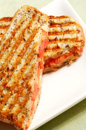Quick Turkey Ranch-Chipotle Panini