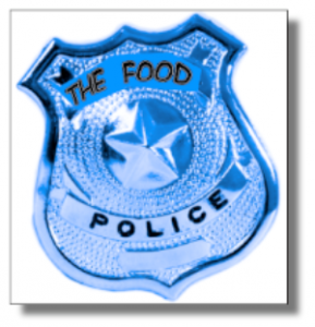 Food Police Badge