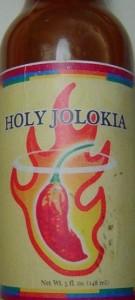 Holy Jolokia Hot Sauce