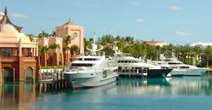 yachts at atlantis