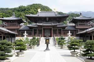 Chi Lin Buddhist Temple, Hong Kong