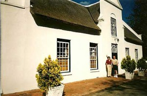 Grandmother Mary's house in Capetown